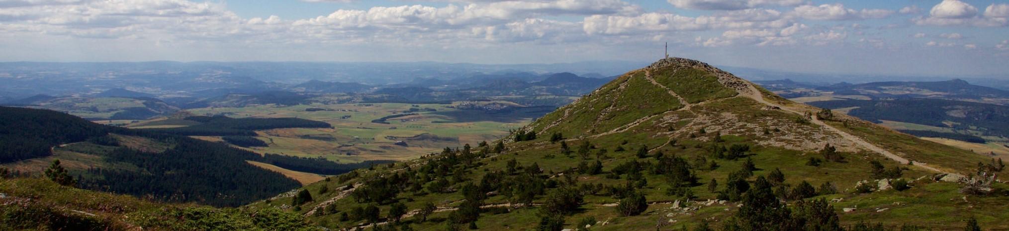 Mont Devès au coeur de l'Auvergne